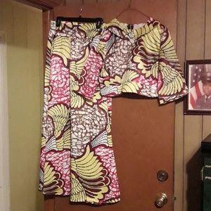 2 piece African attire